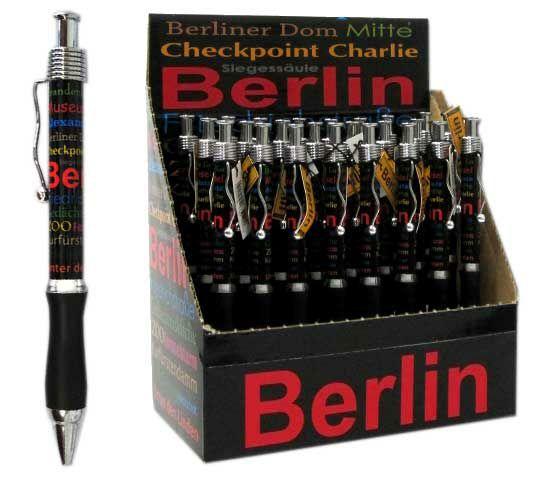 schwarz Schikkus Kugelschreiber Berlin allover